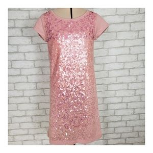 NWT Gap Kids Pink Sequin Dress XL (12)